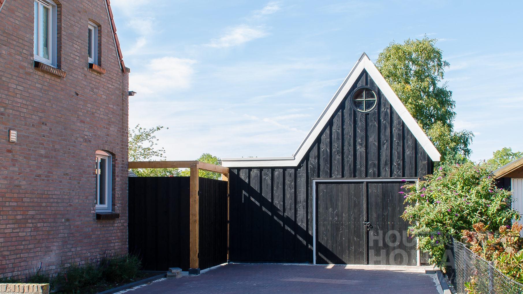 Modern tuinhuis met veranda 3
