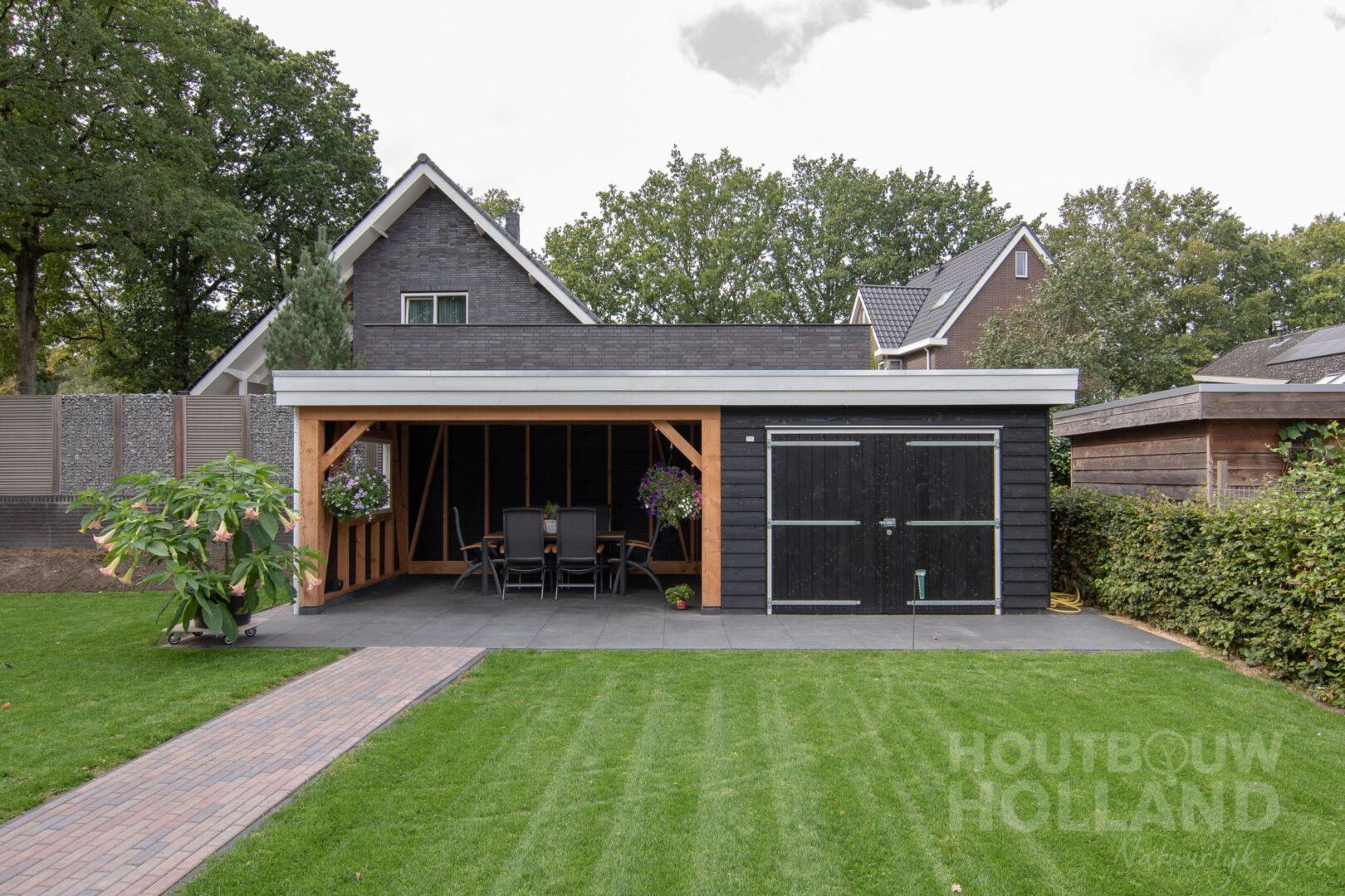 Tuinhuis met veranda 1